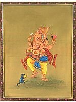 Ganesha As Drummer (Musical Ganesha Series)