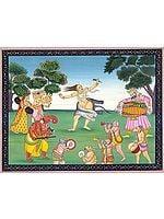 Lord Shiva in Ecstatic Dance