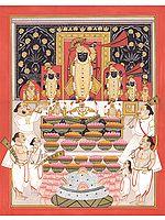 Annakuta Puja at Nathadwara