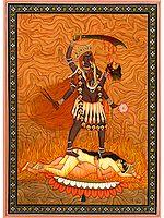 The Four-Armed Goddess Kali