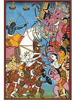 Rama's Battle with Ravana