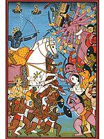 Rama's Battle with Ravana