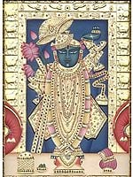Sri Nath Ji at Nathdwara (Rajasthan)