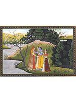 The Crowd of Charming Girls Seduces Hari (Illustration to the Gitagovinda)