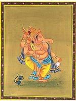 Vinadhara Dancing Ganesha (Musical Ganesha Series)