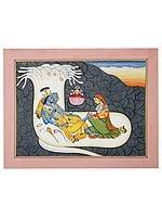 Shesha Shayi Vishnu in Yoga Nidra