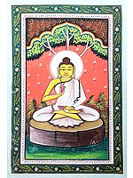 Lord Buddha in Divine Austerity
