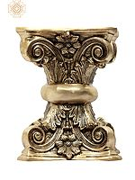 Floral Pedestal (Chowki)