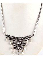 Dangling MOP Necklace
