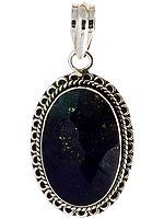Faceted Lapis Lazuli Pendant