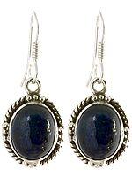 Lapis Lazuli Oval Earrings