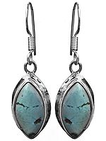 Turquoise Marquis Earrings