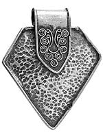 Sterling Dimple Pendant