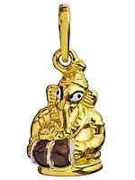 Lord Ganesha the Drummer (Handcrafted Pendant)