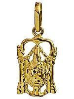 Handcrafted Pendant of Lord Venkateshvara of Tirupati
