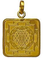 Shri Yantra Two-Sided Pendant