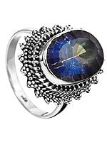 Blue Mystic Topaz Ring