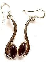 Amethyst Marquis Earrings