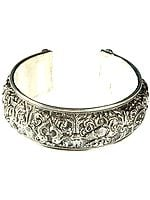 Ashtamangala Cuff Bracelet