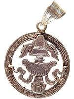 Auspicious Vase (Ashtamangala) Pendant