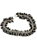 Black Onyx Bunch Bracelet