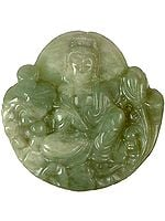 Buddha Carved in Jade
