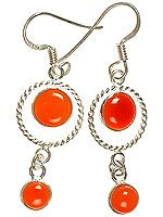 Carnelian Earrings