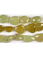 Faceted Grossular GarnetTumbles