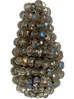 Faceted Labradorite Bunch Drum (Price Per Piece)