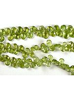 Faceted Peridot Briolette