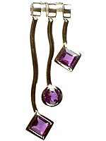 Fine Cut Amethyst Necklace Center