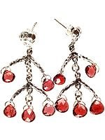 Garnet Designer Earrings