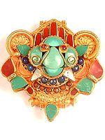 Garuda Gau Box Pendant