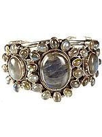 Labradorite Cuff Bangle