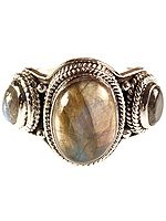Labradorite Finger Ring