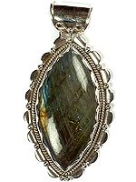 Labradorite Pointed Oval