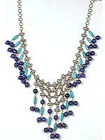Lapis Lazuli & Turquoise Rajasthani Necklace