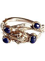 Lapis Lazuli Dragon Bracelet