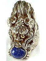 Lapis Lazuli Dragon Ring