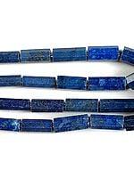 Large Faceted Lapis Lazuli Tubes