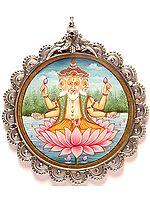 Lord Brahma: Creator of The Universe (Pendant)
