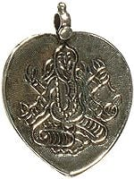 Lord Ganesha On Pipal Leaf