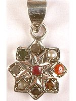 Navaratna Chakra Pendant