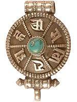 Om Mani Padme Hum (Gau Box Pendant)