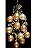 Pearl Bunch Pendant