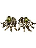 Peridot Designer Earrings