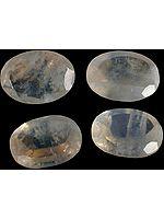 Rainbow Moonstone 10 x 12 mm Oval (Price Per Pc)