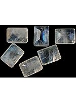 Rainbow Moonstone mm Octagonals (Price Per 6 Pieces)