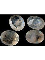 Rainbow Moonstone mm Ovals (Price Per 4 Pieces)