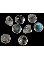 Rainbow Moonstone mm Rounds (Price Per 11 Pieces)